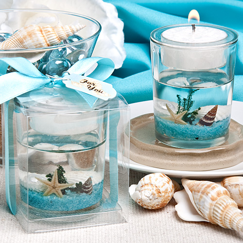 Stunning Beach Themed Candle Favor Wedding Favors Fc 5456