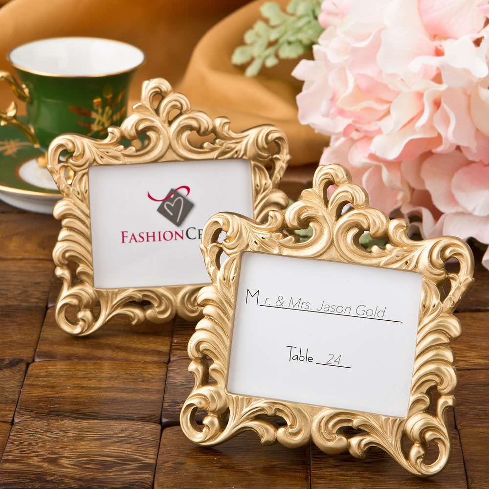 Details About Gold Baroque Style Frame Favor From Partyfairybox Anniversary Favors Fc 8386